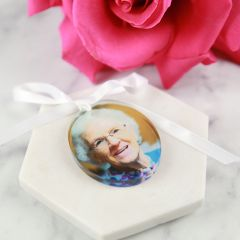 Photo Printed Bouquet Charm