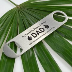 Personalised Engraved Father's Day Barmate Bottle Opener Present