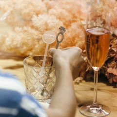 Personalised Laser cut & Engraved Bridal Shower Drink Stirrers