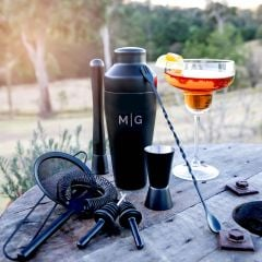 Personalised Engraved Cocktail Shaker Gift Set