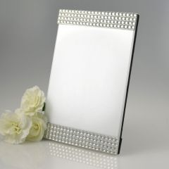 Silver Diamante Photo Frame