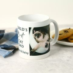 Personalised Father's Day Pet Lover Photo Printed What Coffee Mug Present