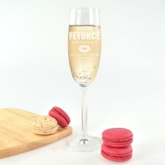 Feyonce champagne glass Drunk in Love