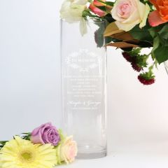 Memorial Vase to commemorate passed loved ones