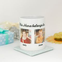 Personalised Photo Printed Mother's Day Coffee Mug