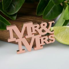 Rose Gold Mr & Mrs Bottle Opener Wedding favour Bomboniere
