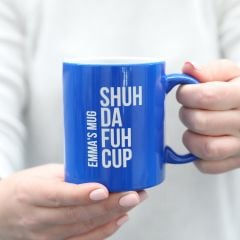 engraved customised name inappropriate gift coffee mug tea cup