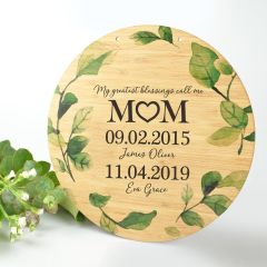 Personalised Colour Printed Mother's Day Kitchen Sign Present
