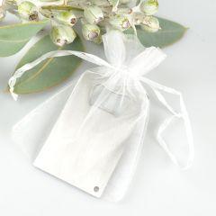 White Organza Gift Bag