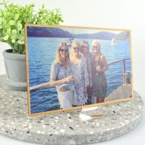 Professionally printed wooden birthday card
