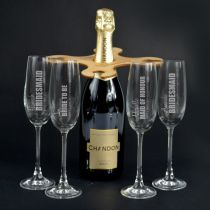 Bridesmaid Champagne Butler Set