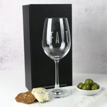 Personalised Engraved Corporate Logo Premium European Wine Glass Company or Client Promotional Gift