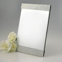 Silver Diamante Photo Frame