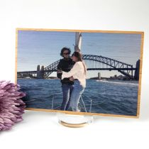 Personalised Professionally Engagement Photo Printed in Full Colour Present