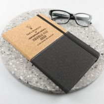 Personalised Engraved Father's Day Cork Dad Note Book Present