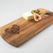 Personalised Engraved Mother's Day Wooden Tapas Board Present