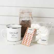 Personalised Engraved Mother's Day Hot Chocolate Hamper Present