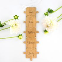 Personalised Engraved Mother's Day Puzzle Hanger Present