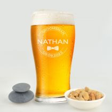 Schooner Beer Mug Groomsman Gift