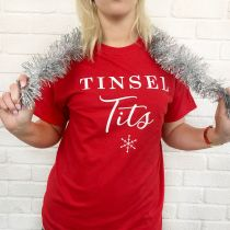 Inappropriate Christmas red shirt