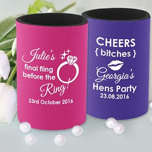 Personalised Essentials: The Stubby Holder
