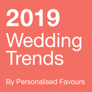 Top wedding trends for 2019