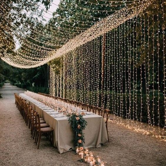 Indoor vs. outdoor wedding